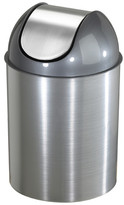 Umbra Mezzo 2.5 Swing-Top Plastic Trash Can