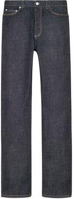 Denim straight-fit jeans