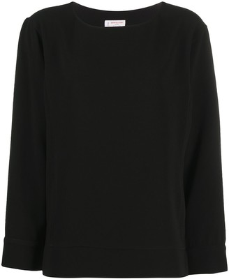 Alberto Biani Boatneck Long-Sleeve Sweatshirt