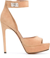 Givenchy open-toe sandals - women - Leather/Suede - 36