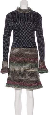 Chanel Paris-Byzance Knit Dress