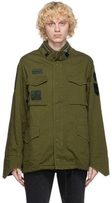 Sankuanz Green Military Jacket