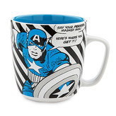 Disney Captain America Marvel Comic Book Mug