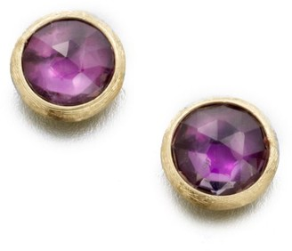 Marco Bicego Jaipur Amethyst & 18K Yellow Gold Stud Earrings