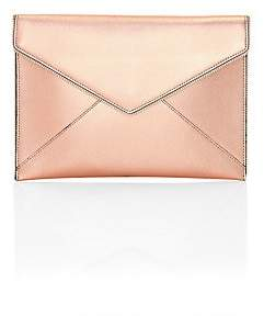 Rebecca Minkoff Women's Leo Metallic Leather Envelope Clutch