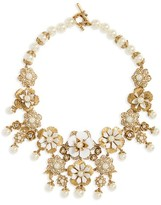 Marchesa Women's Drama Collar Necklace