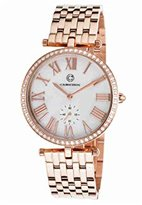 Cabochon Women's 16389-RG-22 Carlita Analog Display Quartz Rose Gold Watch