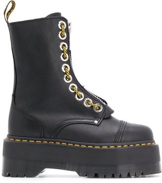 Dr. Martens Sincler platform boots