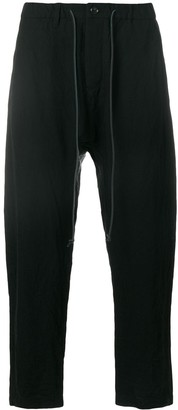 Kazuyuki Kumagai Drop-Crotch Trousers