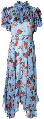 macgraw Sentimental floral-print dress