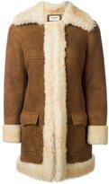 Saint Laurent afghan coat - women - Sheep Skin/Shearling - 38