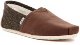 Toms Classic Faux Shearling Lined Slip-On Sneaker