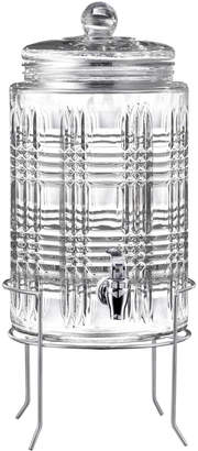 Jay Import Co Portland Glass Beverage Dispenser with Stand