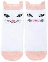 Forever 21 FOREVER 21+ Cat Face Ankle Socks