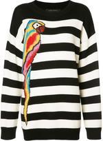 Marc Jacobs striped parrot jumper