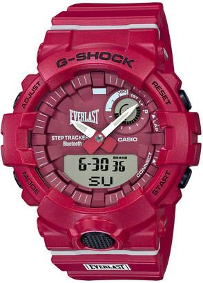 G-Shock Men Analog-Digital Everlast Red Resin Strap Watch 48.6mm, A Limited Edition