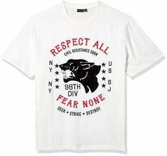 Sean John Men's Fear None Short Sleeve Crew Neck Tee