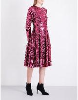 LK Bennett x Preen Sonic sequin dress