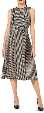 Hobbs London Madeleine Dot Print Dress