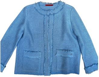 Carolina Herrera Blue Jacket for Women
