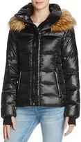 Aqua Kelly Short Puffer Jacket