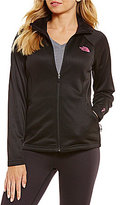 The North Face Pink Ribbon Agave Full Zip Jacket