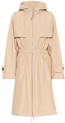 Prada Tech poplin raincoat
