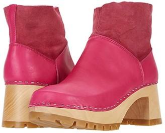 Swedish Hasbeens Slip-On Bootie (Nature) Women's Boots