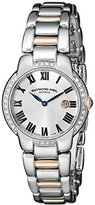 Raymond Weil Women's 5229-S5S-01659 Jasmine Diamond-Accented Two-Tone Stainless Steel Watch