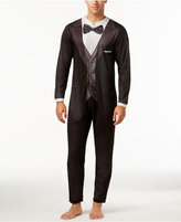 Briefly Stated Men's Tuxedo One-Piece Pajamas