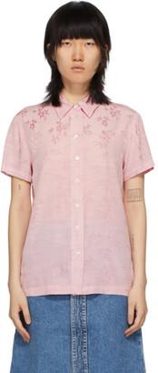 Raquel Allegra Pink Carina Short Sleeve Shirt