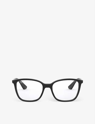Ray-Ban RX7066 rectangular-frame optical glasses