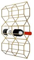 PTM Images Assortment Metal Hexagonal Wine Holder