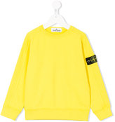 Stone Island Junior crew neck sweatshirt