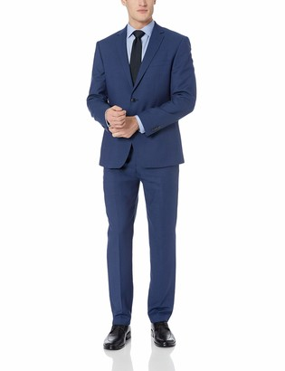 Vince Camuto Men's Slim Fit Stretch Suit with Finished Trousers