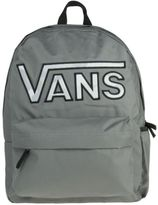 Vans New Womens Grey Realm Polyester Backpack Backpacks
