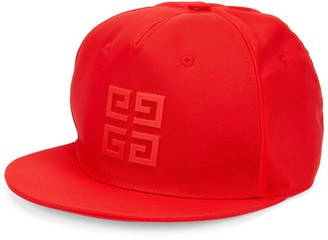 Givenchy Rubber 4G Flat Brim Cap