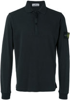 Stone Island logo patch polo top - men - Cotton - S