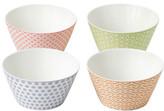 Royal Doulton 1815 Pastel Set Of 4 Bowls