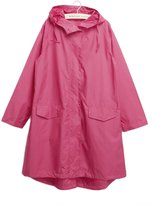 Spring fever Women Lightweight Fast Dry Hiking Waterproof Raincoat Hooded Jacket