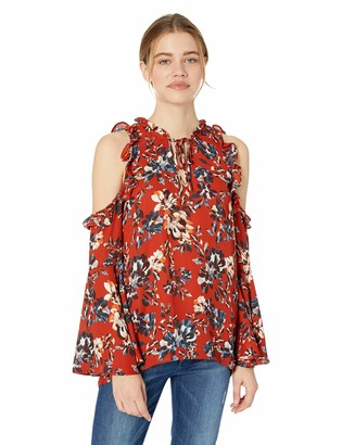 Jack by BB Dakota Junior's Off to The Market Heritage Floral Printed CDC top