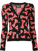Moschino candy wrap cardigan - women - Rayon/Virgin Wool - 42