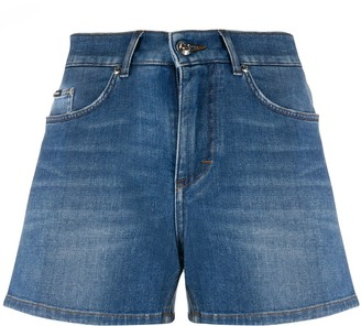 Dolce & Gabbana stonewashed denim shorts