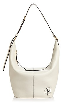 Tory Burch McGraw Extra Large Leather Hobo Bag