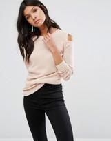 Vila Cold Shoulder Sweater