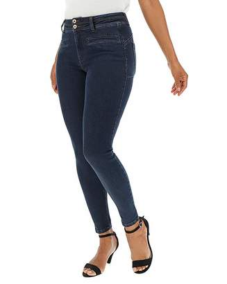 Capsule Indigo Shape & Sculpt Apple Fit Jeans