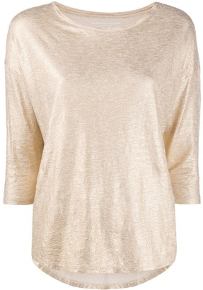 Majestic Filatures Metallic-Thread Top