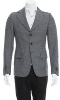 Diesel Black Gold Three-Button Virgin Wool-Blend Blazer w/ Tags