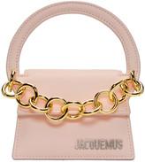 Jacquemus Pink 'Le Petit Rond' Clutch