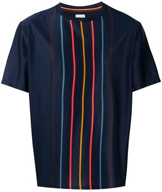 Paul Smith Artist Stripe-print cotton T-shirt